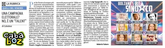 articolo Bolzano got talent
